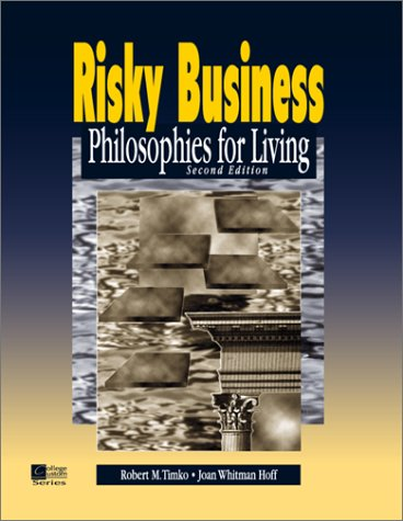 9780070646582: Risky Business : Philosophies for Living
