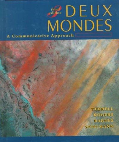 9780070646889: Deux mondes: A Communicative Approach (Student Edition)