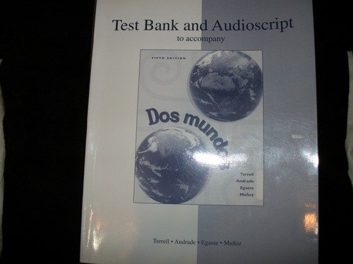 9780070647404: DOS Mundos: Testbank.