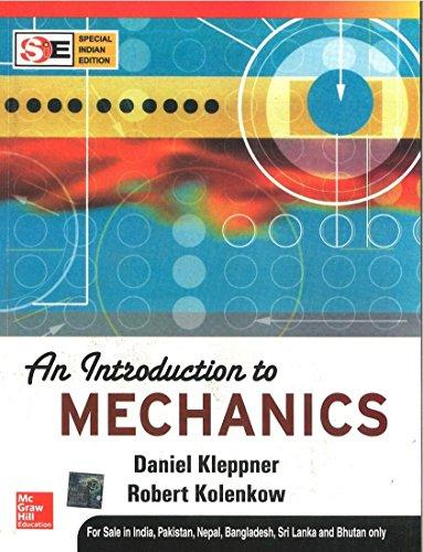 9780070647787: An Introduction to Mechanics