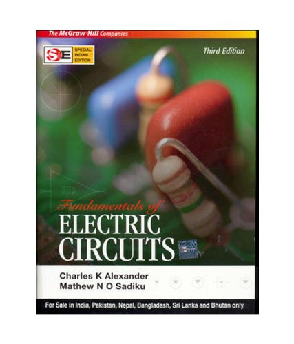 9780070648036: Fundamentals of Electric Circuits