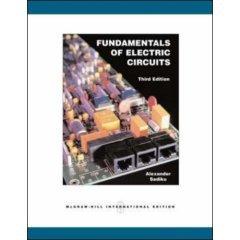 9780070648036: Fundamentals of Electric Circuits