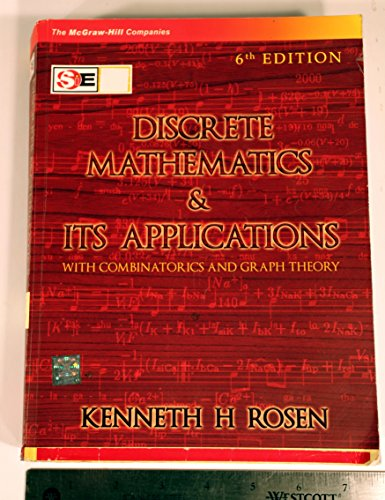 9780070648241: Discrete Mathematics and Its Applications