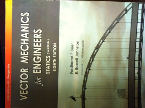 9780070648272: VECTOR MECHANICS FOR ENGINEERS-STATICS-[IN SI UNITS] EIGHTH EDITION