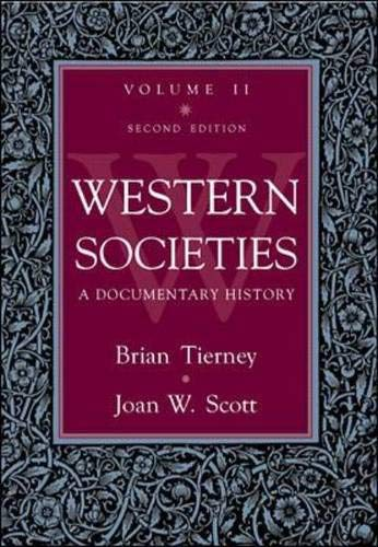 9780070648456: Western Societies: A Documentary History, volume 2