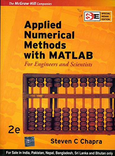 9780070648531: Applied Numerical Methods with MATLAB for Engineers and Scientists