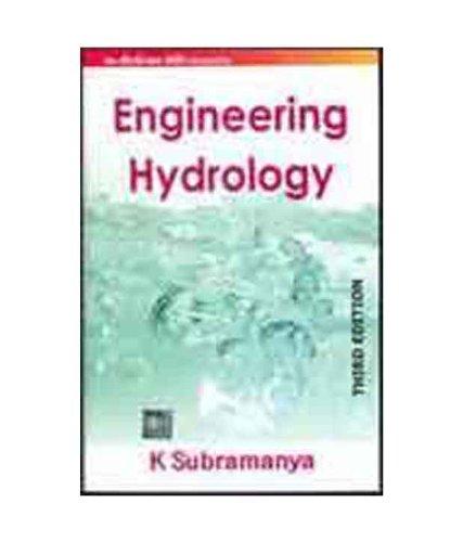 engineering hydrology by k subramanya abebooks rh abebooks co uk Renewable Energy Engineering engineering hydrology k subramanya solution manual