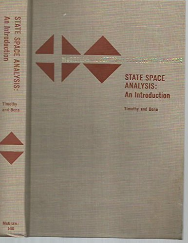 9780070648708: State Space Analysis: An Introduction
