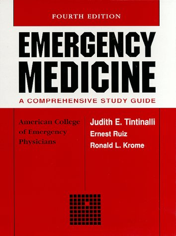 9780070648791: Emergency Medicine: A Comprehensive Study Guide