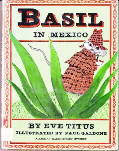 9780070648982: Basil in Mexico: A Basil of Baker Street Mystery