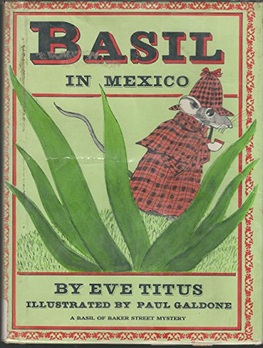 9780070649002: Basil in Mexico: A Basil of Baker Street Mystery