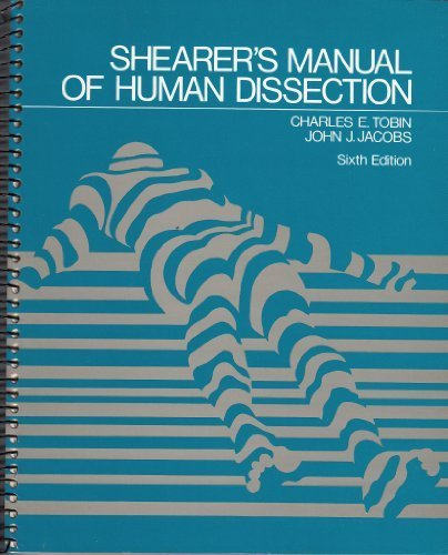 9780070649262: Shearer's Manual of Human Dissection, 6th Edition