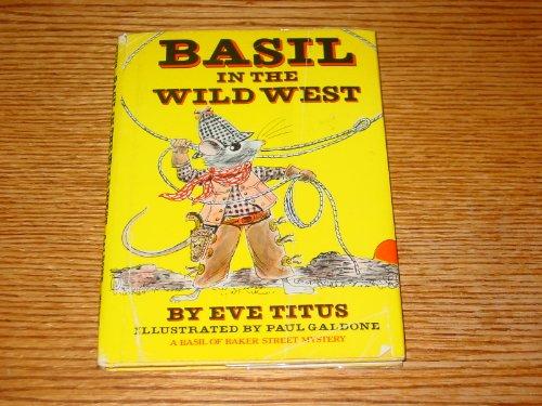 9780070649347: Basil in the Wild West (Basil of Baker Street Mystery)