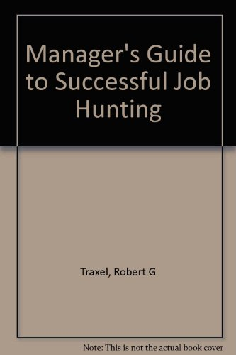 9780070650961: Manager's guide to successful job hunting
