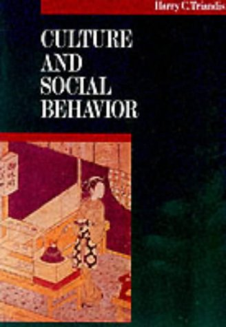 9780070651104: Culture and Social Behavior (The McGraw-Hill series in social psychology)