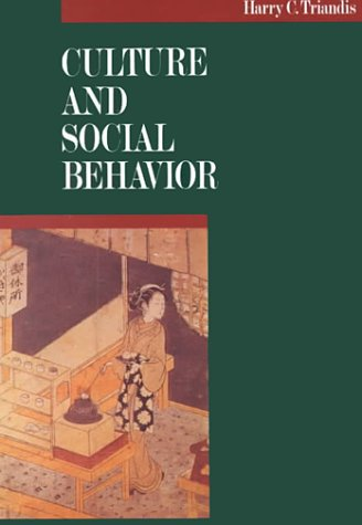 9780070651104: Culture and Social Behavior