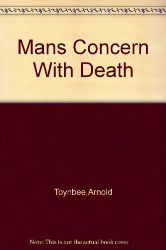 9780070651265: Man's Concern With Death