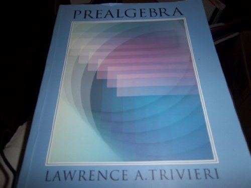 9780070652255: Prealgebra: An Integrated Approach