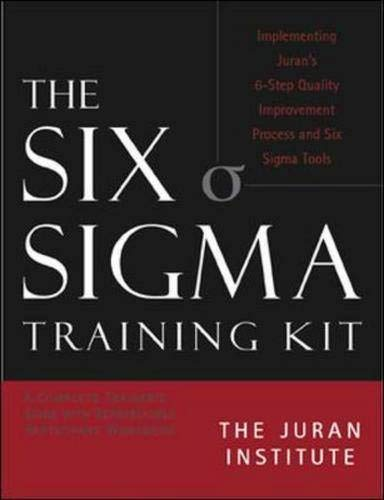 9780070653436: The Six Sigma Basic Training Kit: Implementing Juran's 6-Step Quality Improvement Process And Six Sigma Tools