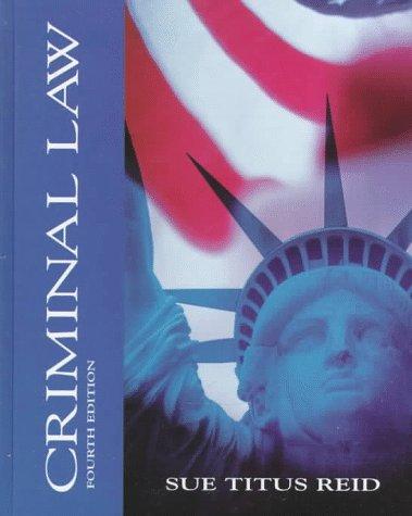 9780070653498: Criminal Law