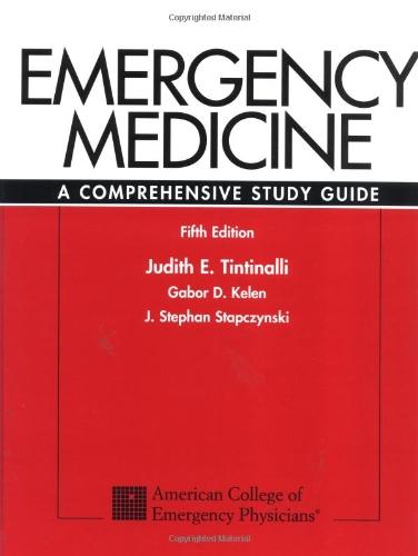 9780070653511: Emergency Medicine: A Comprehensive Study Guide