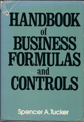 9780070654211: Handbook of Business Formulas and Controls