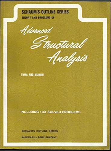 9780070654266: Advanced Structural Analysis (Schaum's outline series)