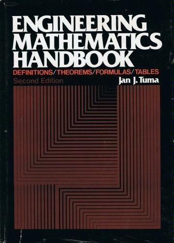 9780070654297: Engineering mathematics handbook: Definitions, theorems, formulas, tables