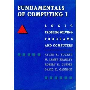 9780070654495: Fundamentals of Computing: Logic Problem Solving Programs and Computers (McGraw-Hill computer science series)