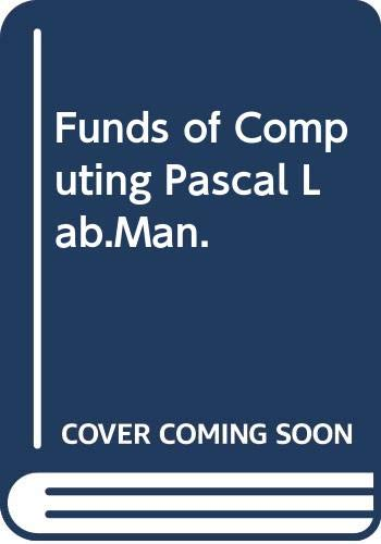 9780070654518: Funds of Computing Pascal Lab.Man.