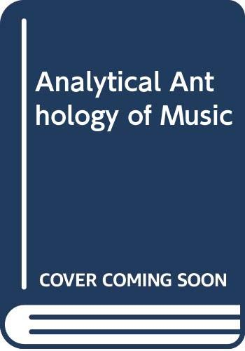 9780070654570: Ri Irm Analytical Anthology Music: Instructor's Resource Manual