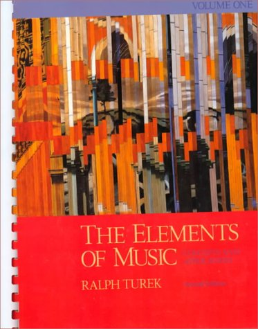 9780070654747: The Elements of Music: Concepts and Applications, Vol. I: v. 1
