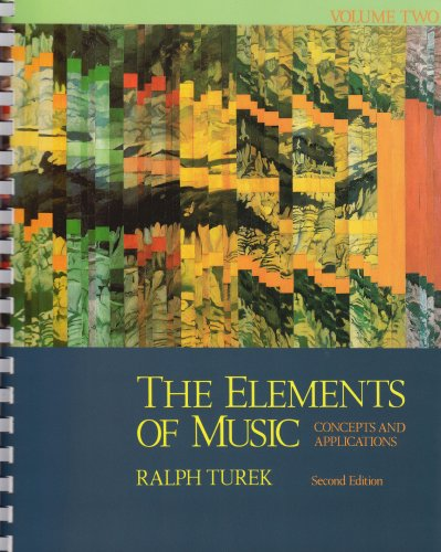 9780070654754: The Elements of Music: Concepts and Applications, Vol. 2