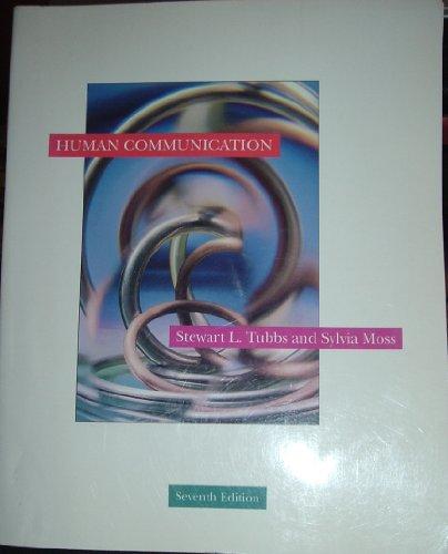 9780070654877: Human Communication