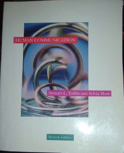 9780070654877: Human Communication