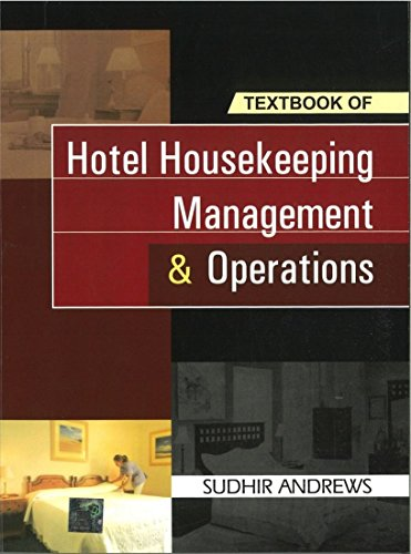 9780070655720: Hotel Housekeeping Management & Operations