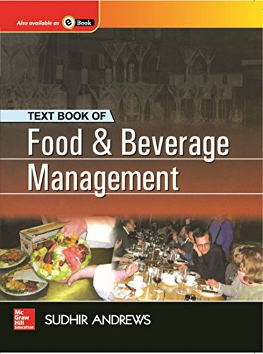 Textbook of Food & Beverage Management: Sudhir Andrews