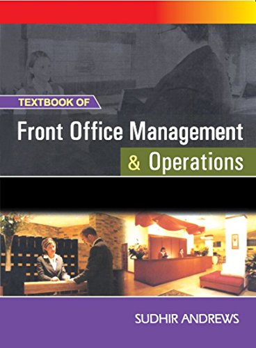 9780070655768: Textbook of Front Office Management and Operations