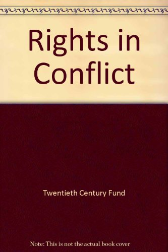 9780070656253: Rights in Conflict