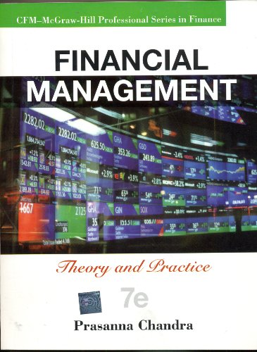 Financial Management: Theory and Practice: Prasanna Chandra