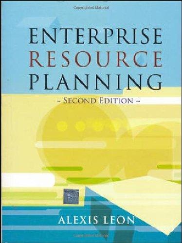 9780070656802: Enterprise Resource Planning