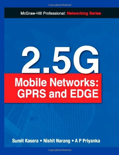 9780070656925: 2.5G Mobile Networks: GPRS and EDGE