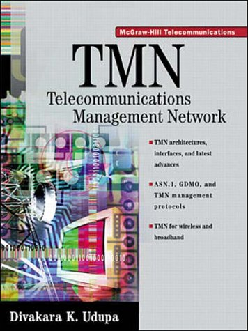 9780070658158: TMN: Telecommunications Management Network (McGraw-Hill Telecommunications)