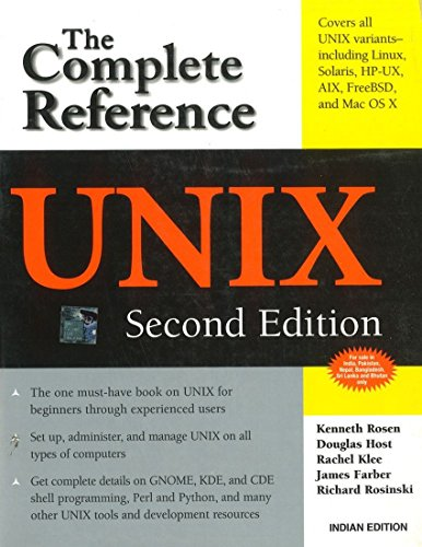9780070658363: UNIX: The Complete Reference, Second Edition (Complete Reference Series) [Paperback]