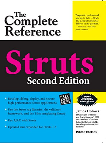 9780070658455: Struts: The Complete Reference [Paperback]