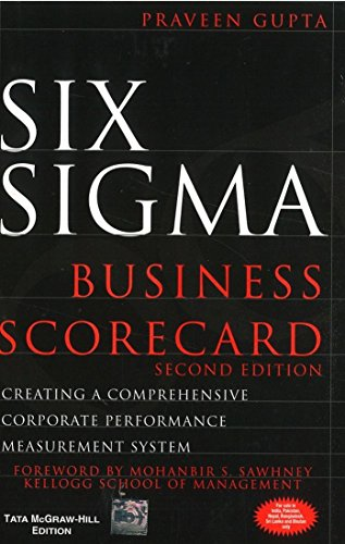 9780070658943: SIX SIGMA BUSINESS SCORECARD