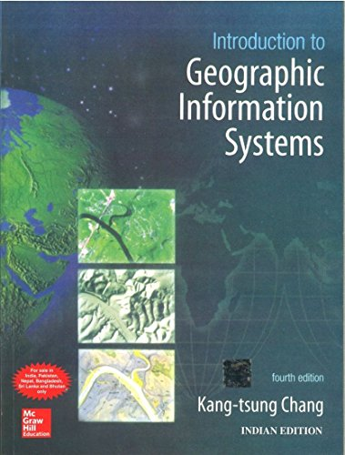9780070658981: Introduction to Geographic Information Systems