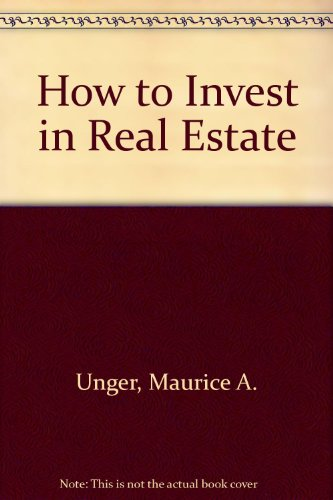 9780070659155: How to Invest in Real Estate (McGraw-Hill paperbacks)