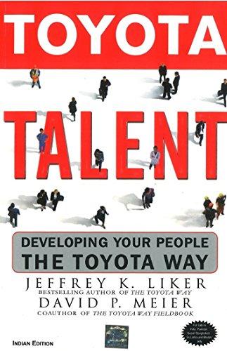9780070659483: Toyota Talent