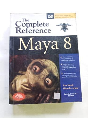 9780070659544: Maya 8- Complete Reference (07) by Meade, Tom - Arima, Shinsaku [Paperback (2007)]